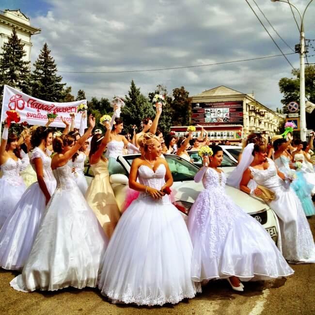 Tiraspol Transnistria in September 2013