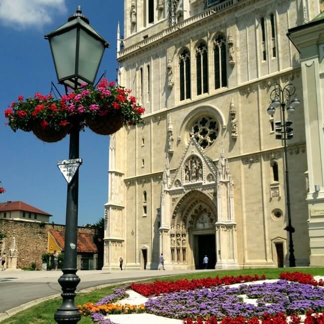 Zagreb Croatia in June