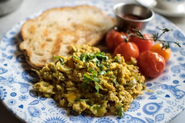 Dishoom Indian Breakfast
