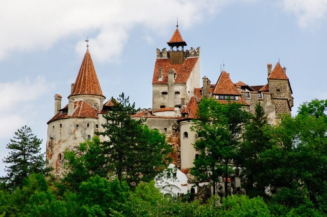 Bran Castle aka Dracula's Castle Transylvania