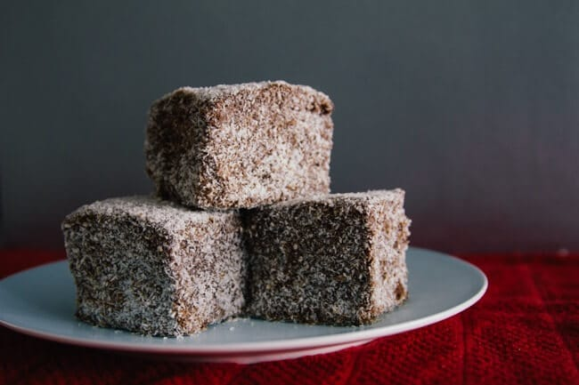 Lamingtons (not from Exmouth)