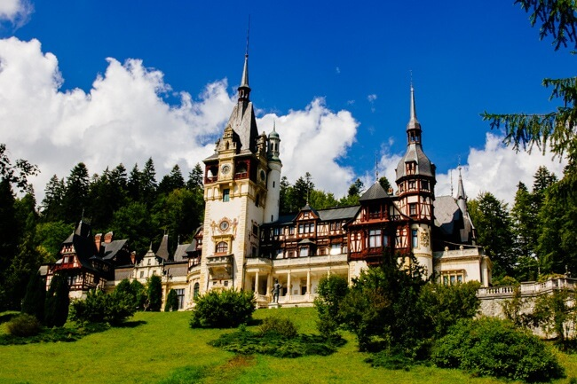 Fairytale Peles Castle Romania