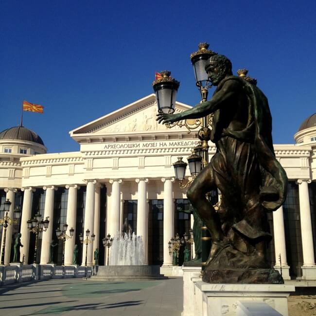 A bit of Paris in Macedonia LOL