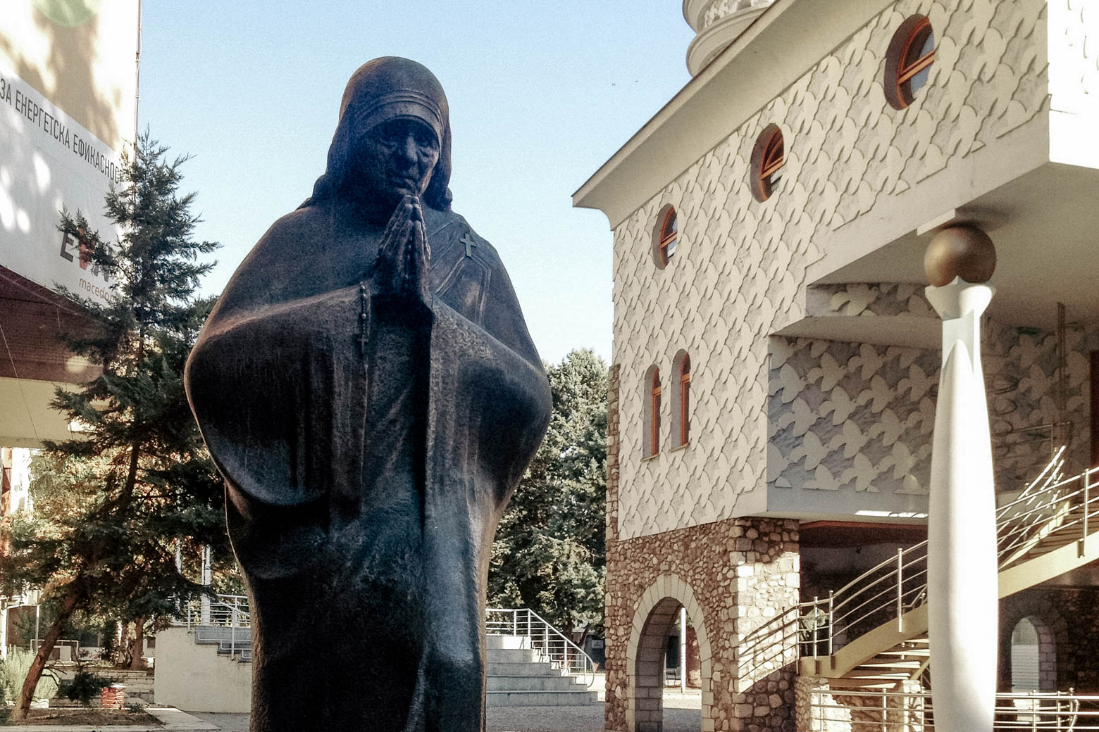 Mother Theresa Statue Skopje
