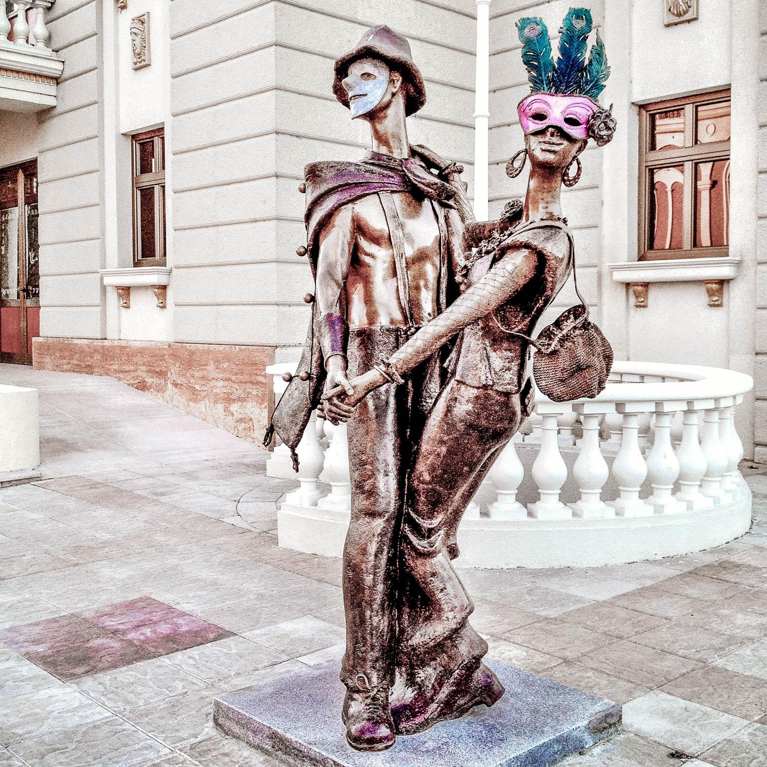 Skopje Dancing Theatre Couple