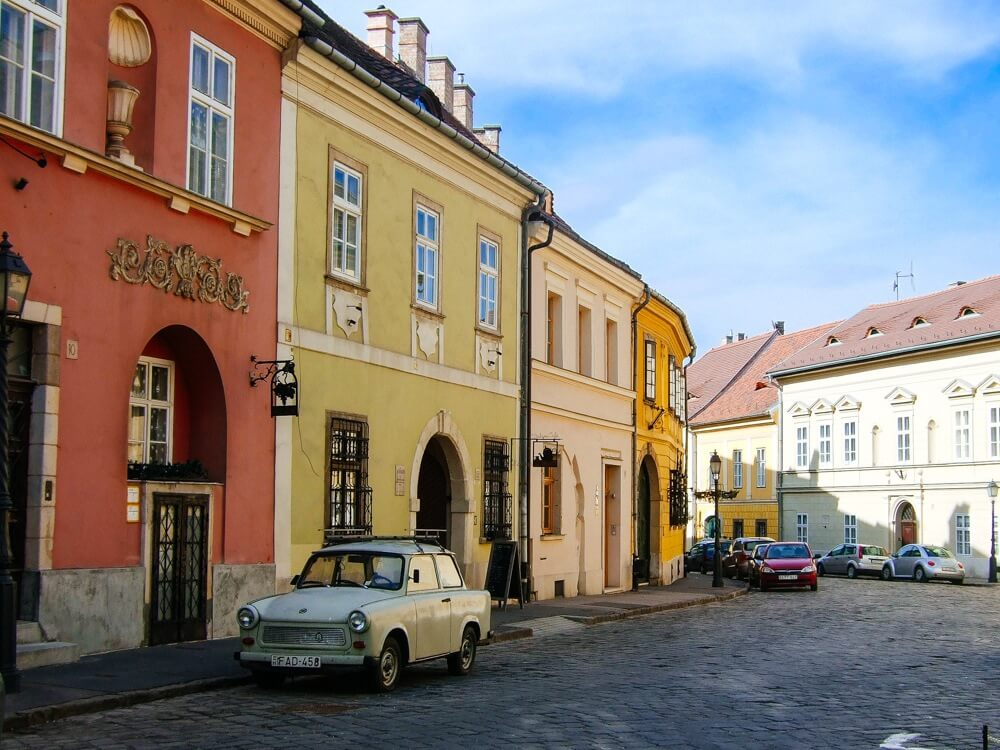 The Small Streets in Buda