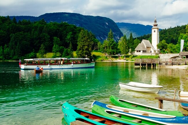 Lake Bohinj Boats and Kayaks