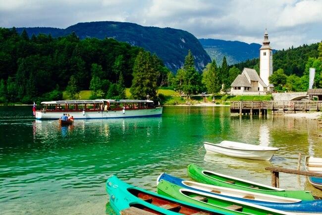 Lake Bohinj Boats and Kayaks