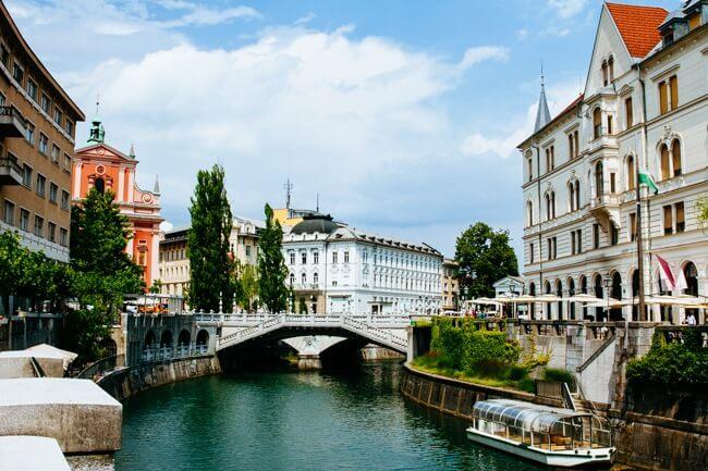 Ljubljana's River