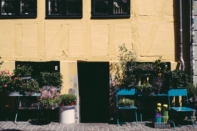 Flower shop in Copenhagen
