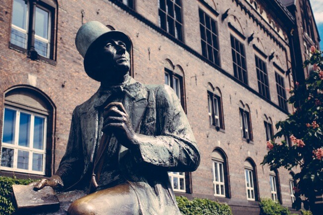 Hans Christian Andersen was also a travel writer.