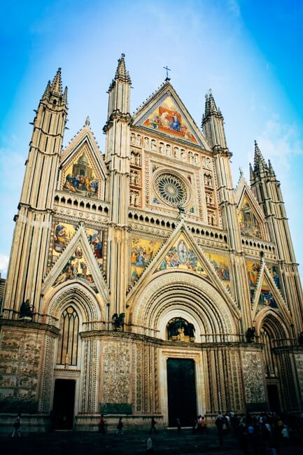 Orvieto Cathedral in Tuscany