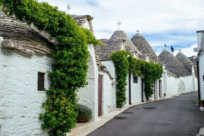 Trulli Village in Southern Italy