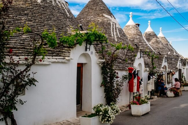 Unesco Listed Trulli Houses in Puglia