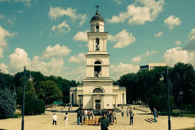 Chisinau's Main Square