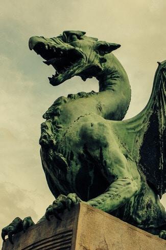 The symbol of Ljubljana