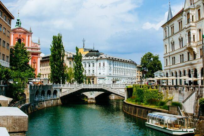 River Ljubljanica in Slovenia's Capital