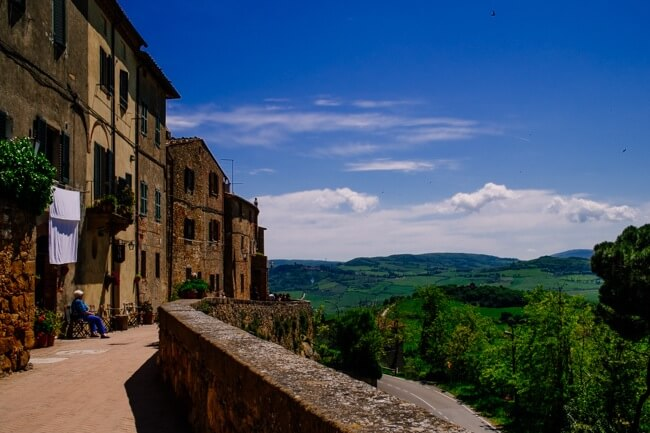 Tuscany Hills in Pienza