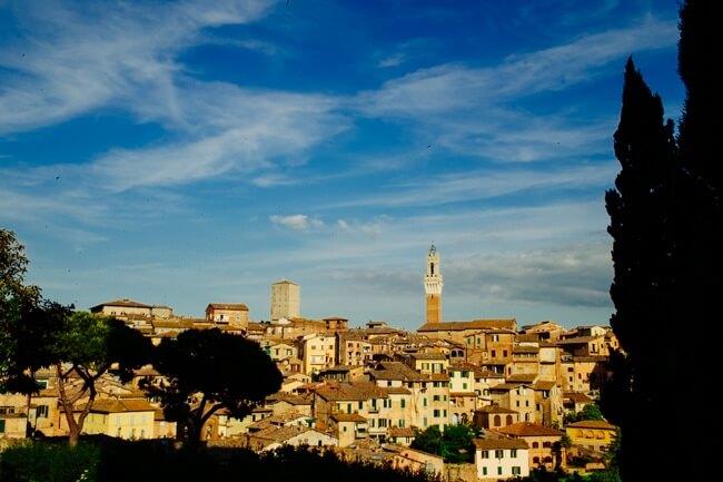 Hilltop Town Siena