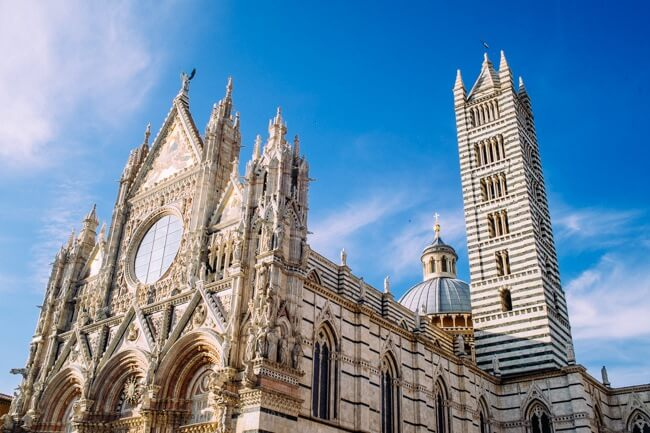 Siena Cathedral in Tuscany