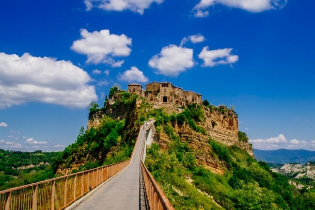 Civita de Bagnoregio - Hilltop Town in Tuscany