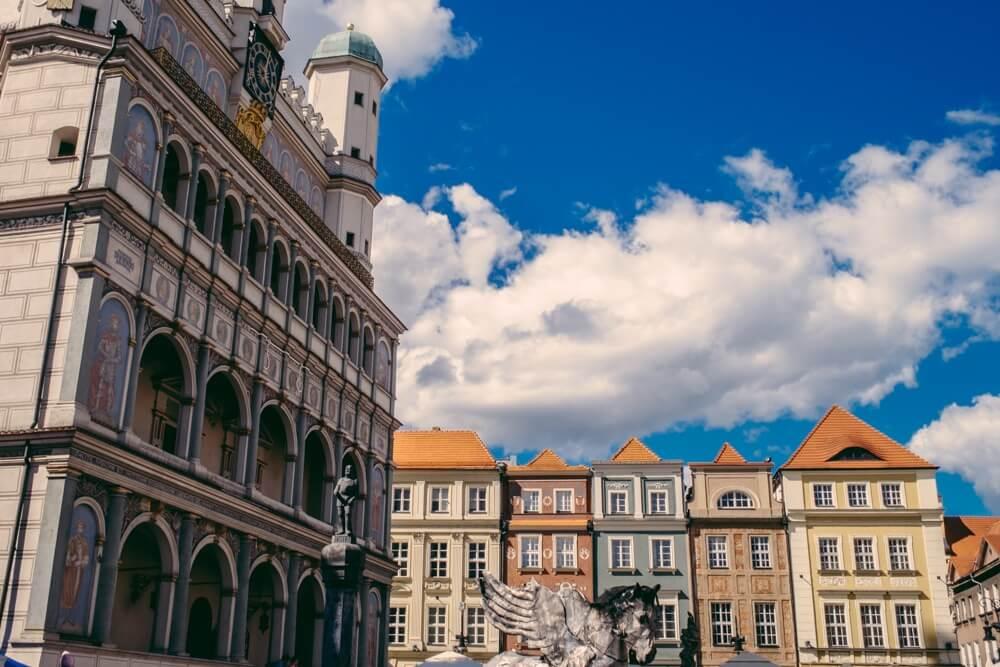 Poznan's Main Market Square