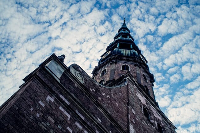 There are so many churches in Riga!