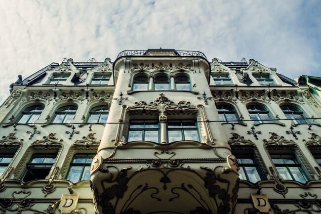 Gorgeous Architecture in Riga Latvia