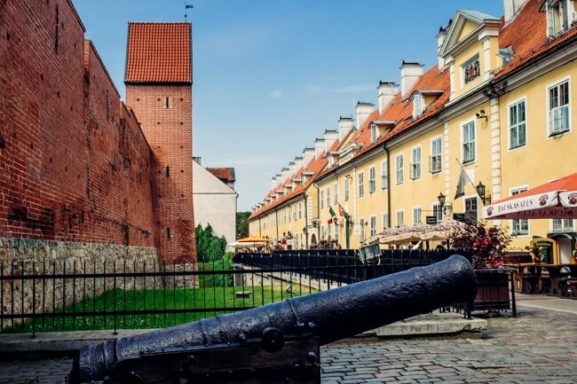 Riga's Old Town Walls
