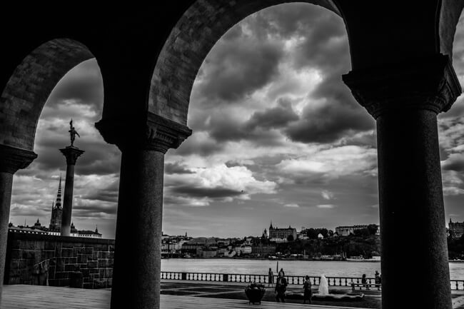 Cloudy Stockholm