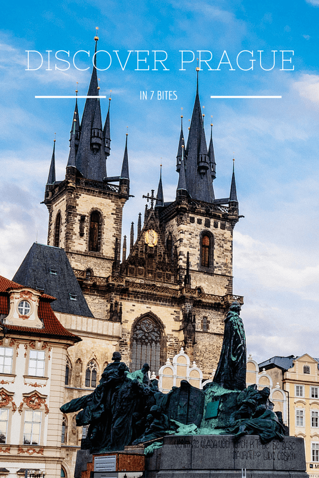 Discovering Prague in 7 Bites