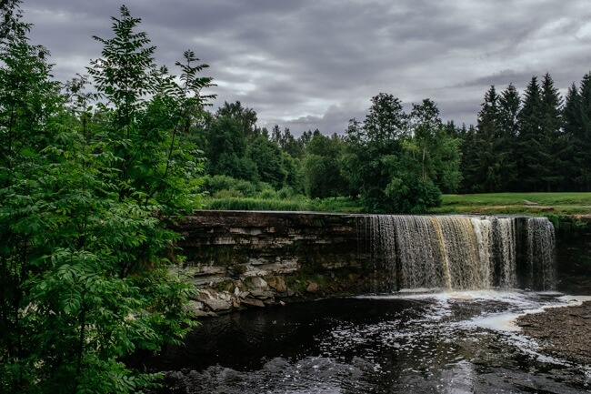Waterfalls in Estonia