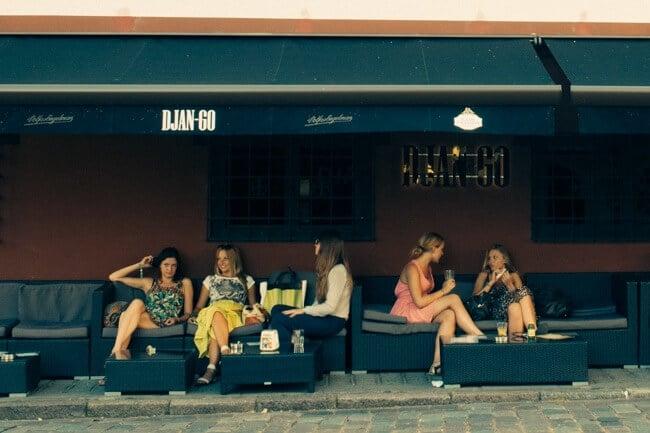 Cafe Culture in Kaunas Lithuania