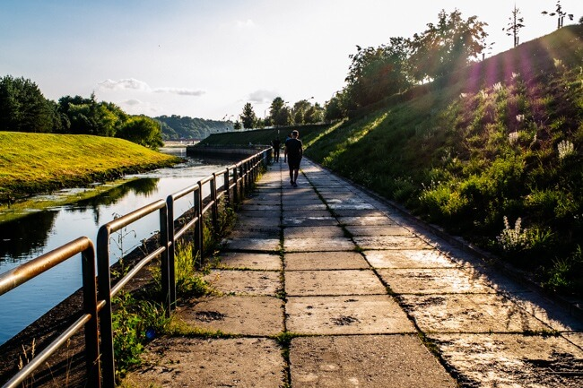 Riverside Walk in Kaunas