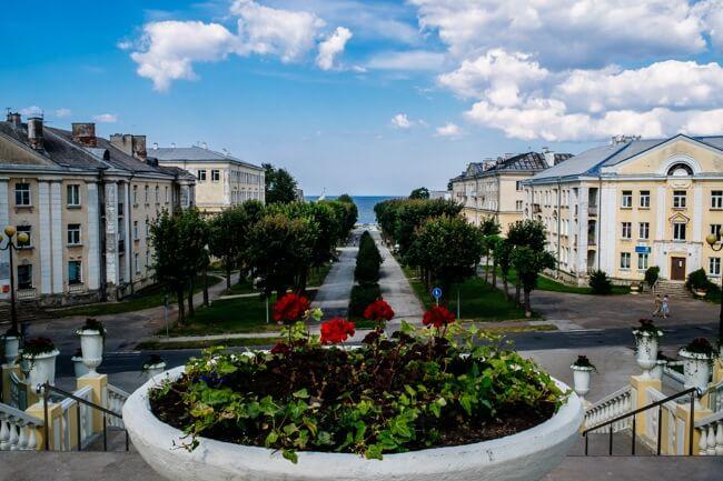 Stalinist Architecture in Sillamae