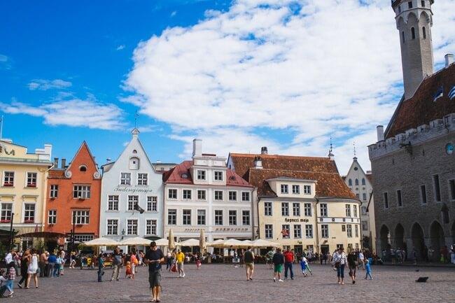 Tallinn Town Hall Square