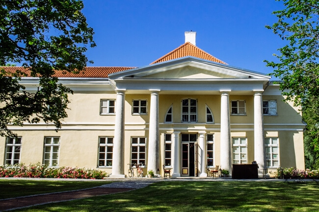 Kau Manor - Famous Estonian Manor House