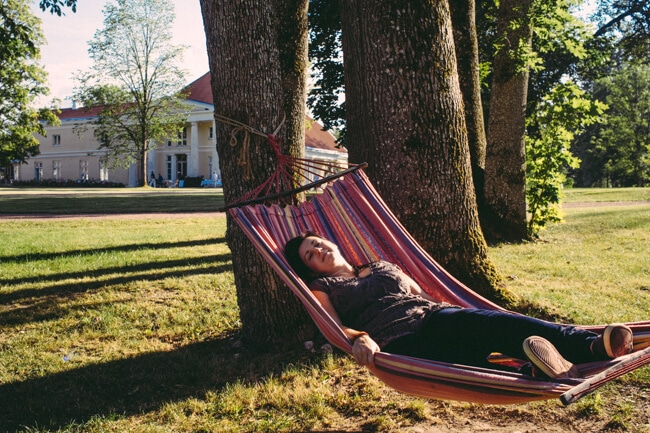 New blog title: Life in a Hammock