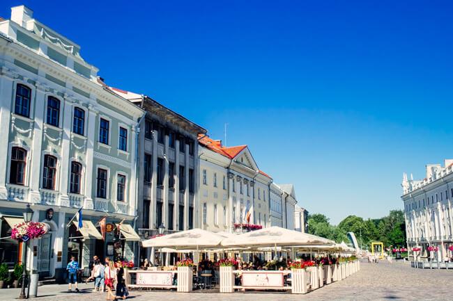 Tartu's Cafe Strip