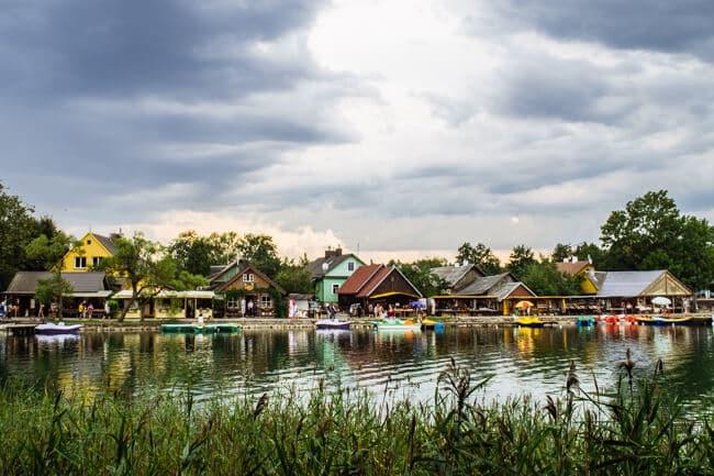 Serene Lakeside Trakai