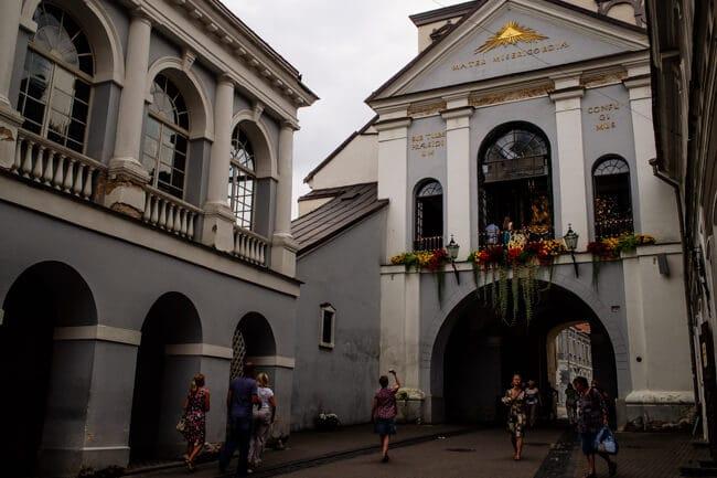 The VERY religious Gates of Dawn in Vilnius