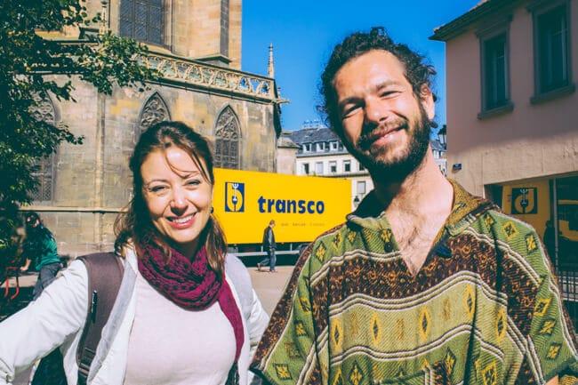Fellow travellers in Colmar