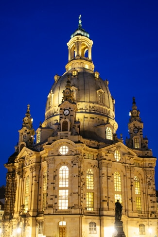Dresden's Frauenkirche completed in 2005
