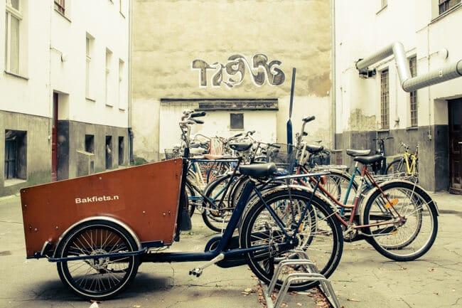 Urban Bike Parking