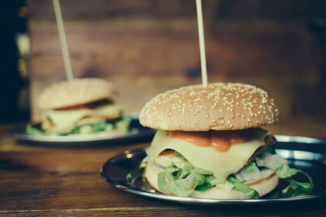 Gourmet burgers for the hipsters.