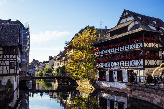 Cliche Photo of Petite France in Strasbourg