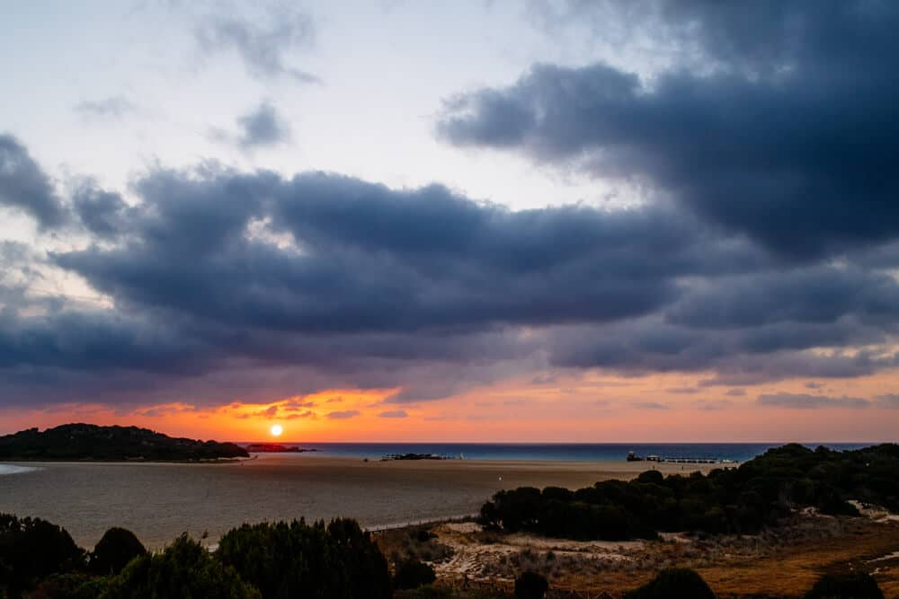 Stormy Morning in Chia Sardinia