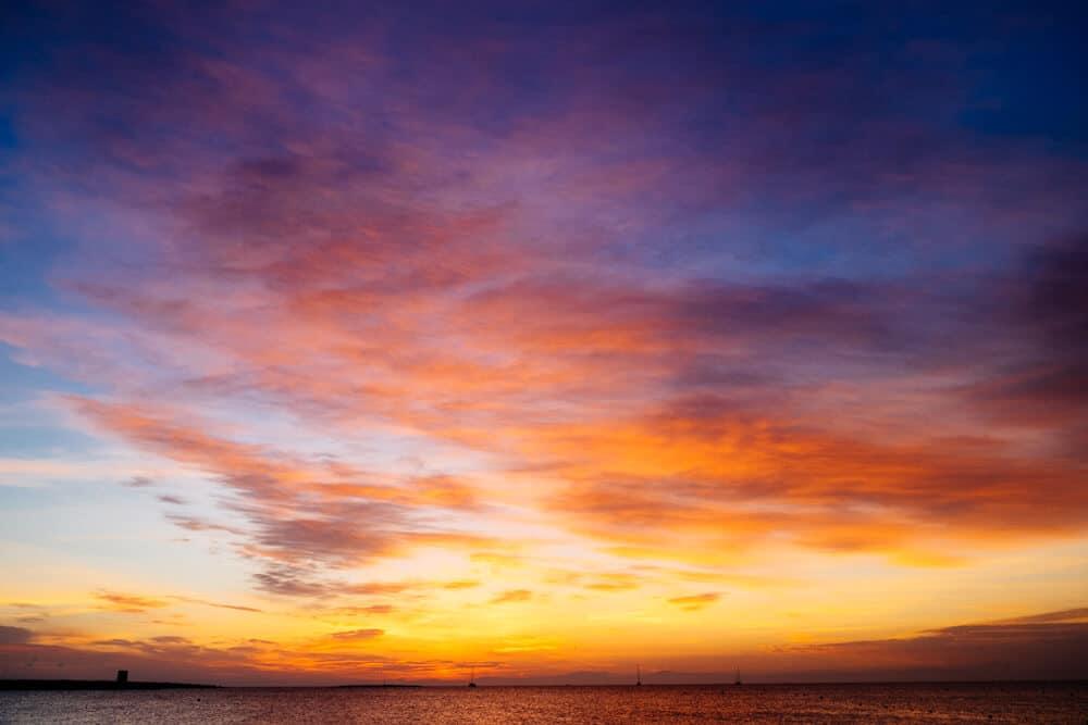 La Pelosa Sunrise