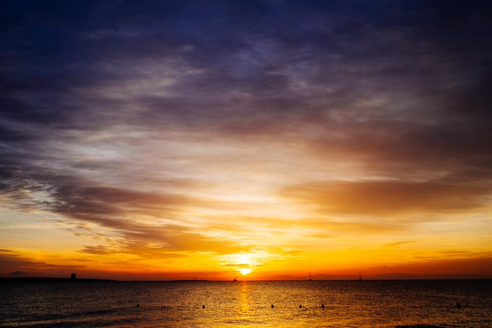 Cloudy Morning in La Pelosa