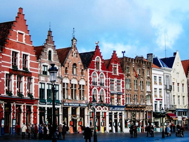 Bruges World Heritage Listed Square